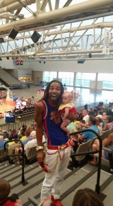Harlem Globetrotters entertain at the Jersey Shore