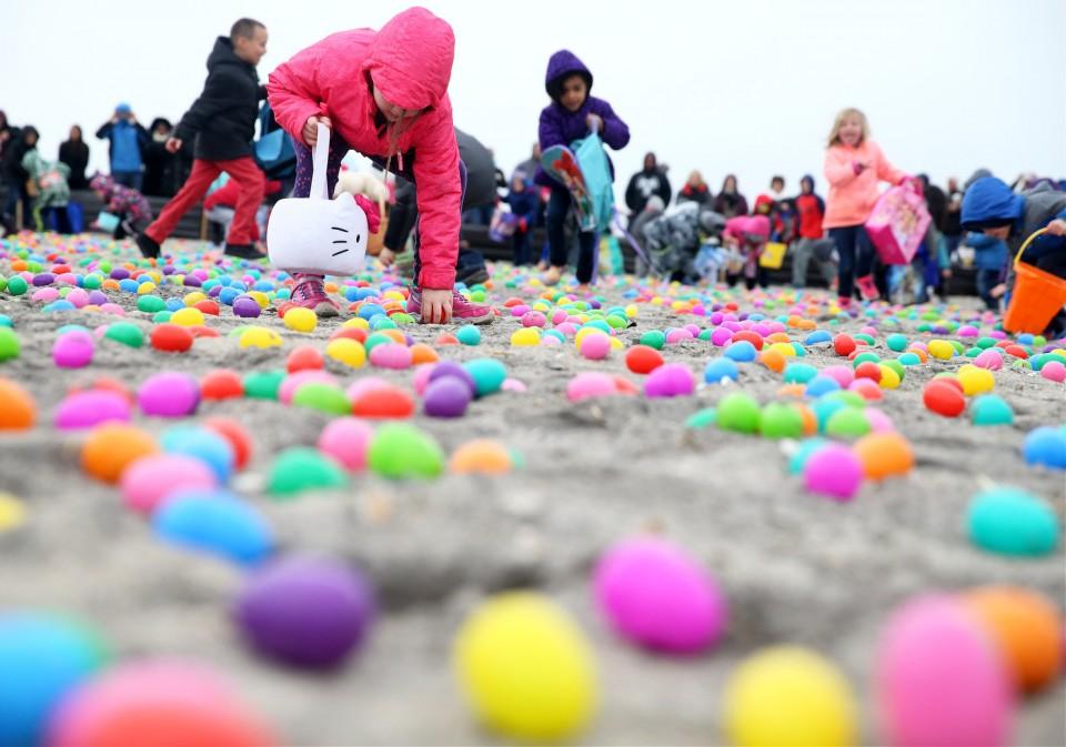 Brigantine Beach Easter Egg Hunt
