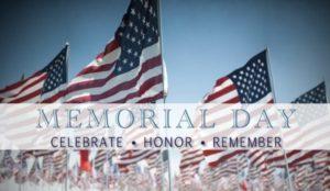 Memorial Day Celebrations 2018